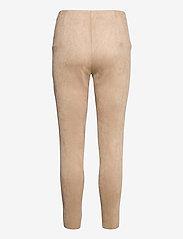 Vero Moda - VMCAVA ZIP NW FAUX SUEDE LEGGING JRS BOO - leggings - nomad - 1