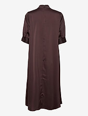 Vero Moda - VMMARLIN 2/4 CALF DRESS VMA - vardagsklänningar - chocolate plum - 1