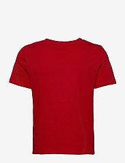 Vero Moda - VMXMASOLLY SS TOP BOX  JRS GA - t-shirts - chinese red - 1