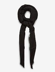 Vero Moda - VMKATE LONG SCARF NOOS - tørklæder - black - 0