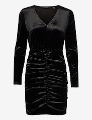 Vero Moda - VMKAITI LS DRESS JRS - fodralklänningar - black - 0