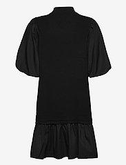 Vero Moda - VMMOEKO SS HIGHNECK DRESS GA - vardagsklänningar - black - 1