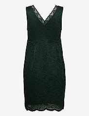 Vero Moda - VMJANNE SL SHORT LACE DRESS JRS BOO - fodralklänningar - pine grove - 1