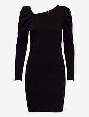 Vero Moda - VMJOSELYN LS SHORT DRESS SE LCS JRS - fodralklänningar - black - 0