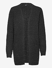 Vero Moda - VMDOFFY LS SHORT OPEN CARDIGAN GA - koftor - black - 0