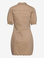 Vero Moda - VMAVIIS 2/4 PUFF SHORT DRESS - sommarklänningar - nomad - 1