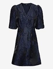 Vero Moda - VMJACARLA 2/4 SHORT DRESS EXP - cocktailklänningar - night sky - 0