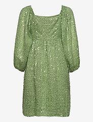 Vero Moda - VMFLIRTLY 7/8 SHORT DRESS EXP - cocktailklänningar - forest shade - 1