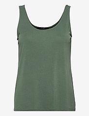 Vero Moda - VMFILLI CALIA TANK TOP GA - t-shirts - laurel wreath - 0