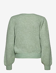 Vero Moda - VMLEFILE PUFF LS BLOUSE REP - tröjor - jadeite - 1