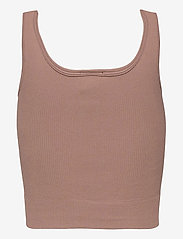 Vero Moda - VMEVE TOP - linnen - brownie - 1