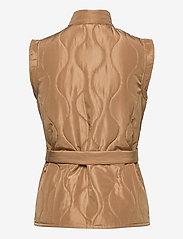 Vero Moda - VMEMMA  S/L SHORT  QUILTED VEST FM - puffer vests - tobacco brown - 1