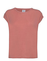 VMAVA PLAIN SS TOP GA - OLD ROSE
