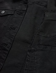 Vero Moda - VMHOT SOYA LS DENIM JACKET MIX GA - jeansjackor - black - 4