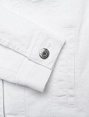 Vero Moda - VMHOT SOYA LS DENIM JACKET MIX GA - jeansjackor - bright white - 3