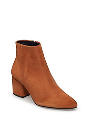 VMASTRID LEATHER BOOT - COGNAC