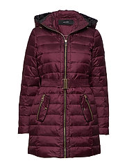 VMGOLD MARGA 3/4 DOWN JACKET BOOS - RED