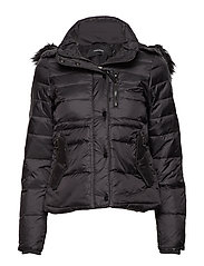 VMPLATIN MARGA SHORT DOWN JACKET BOOS - BLACK