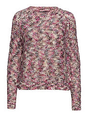 VMFRUTTI LS O-NECK BLOUSE - ROSE VIOLET
