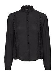 VMFLORIDA L/S LATTER SHIRT GA - BLACK