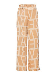 VMGINGER STRAIGHT PANTS VMA - INDIAN TAN