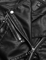 Vero Moda - VMRIAFAVO SHORT COATED JACKET - skinnjackor - black - 3