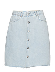 VMZOE HR SKIRT ST301 VMA - MEDIUM BLUE DENIM