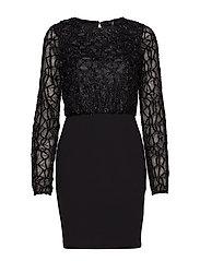 VMDORIS LS SHORT DRESS JRS - BLACK