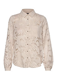 VMELITA LS SHIRT JRS - BIRCH