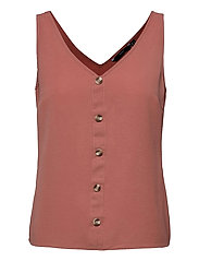 VMSASHA SL BUTTON TOP COLOR - OLD ROSE
