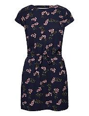 VMSASHA BALI S/S SHORT DRESS - NAVY BLAZER