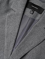 Vero Moda - VMDAFNELISA 3/4 JACKET - wool jackets - dark grey melange - 2