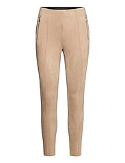 VMCAVA ZIP NW FAUX SUEDE LEGGING JRS BOO - NOMAD