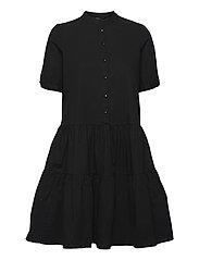 VMDELTA 2/4 ABK DRESS WVN DA GA KI COLOR - BLACK
