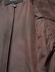 Vero Moda - VMTHEA SHORT FAUX FUR JACKET COL - fuskpäls - chocolate plum - 4