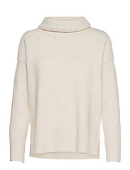 VMDOFFY LS COWLNECK BLOUSE GA COLOR - BIRCH