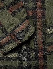 Vero Moda - VMCHRISSIE LONG CHECK SHIRT GA - overshirts - black forest - 3