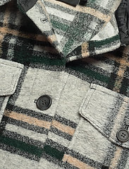 Vero Moda - VMCHRISSIE LONG CHECK SHIRT GA - overshirts - light grey melange - 3