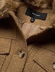 Vero Moda - VMPERNILLE SHORT JACKET EXP - ulljackor - tobacco brown - 4