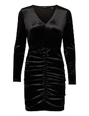 VMKAITI LS DRESS JRS - BLACK
