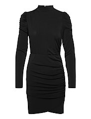 VMJAYDA LS SHORT DRESS JRS GA BOO - BLACK