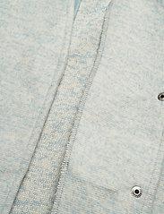 Vero Moda - VMBRUSHEDKATRINE SS21 3/4 JACKET GA BOOS - ullkappor - blue fog - 4