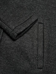 Vero Moda - VMBRUSHEDKATRINE SS21 3/4 JACKET GA BOOS - ullkappor - dark grey melange - 3