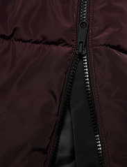 Vero Moda - VMBERGEN WOB 3/4 JACKET BOOS - dunkappor - chocolate plum - 9