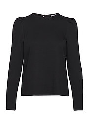 VMNOREEN LS O-NECK BLOUSE VMA - BLACK