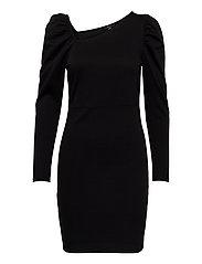 VMJOSELYN LS SHORT DRESS SE LCS JRS - BLACK