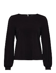 VMDARLA LS TOP JRS - BLACK