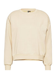VMDAISY L/S MUSCLE SWEAT EXP - CREME BRLE