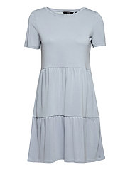 VMFILLI CALIA SS SHORT DRESS GA - BLUE FOG