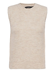 VMOLINA SL O-NECK VEST - BIRCH